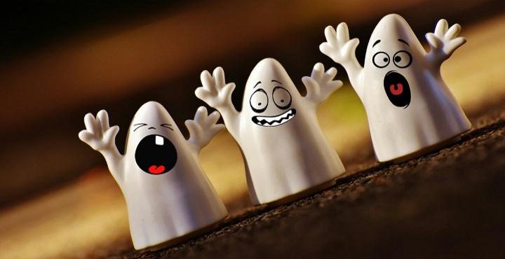 3 смешных привидения